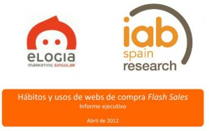 Estudio Flash Sales IAB